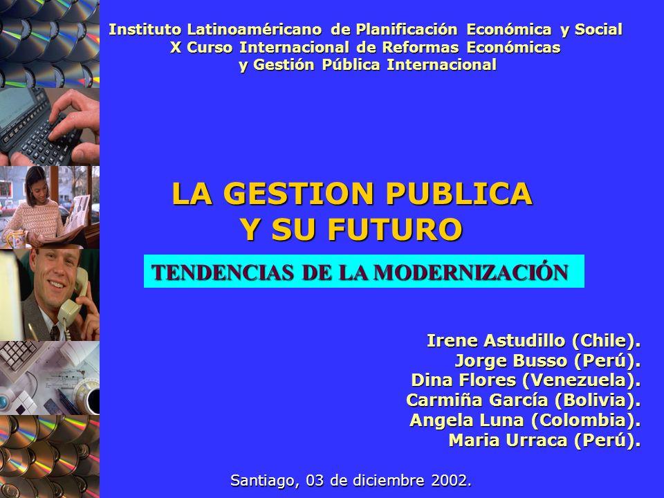 LA GESTION PUBLICA Y SU FUTURO