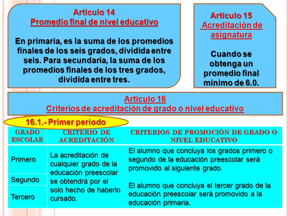 Promedio final de nivel educativo