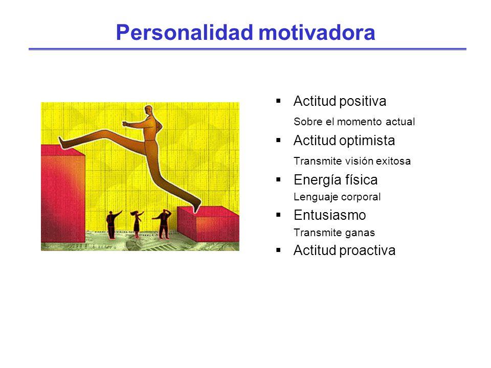 Personalidad motivadora