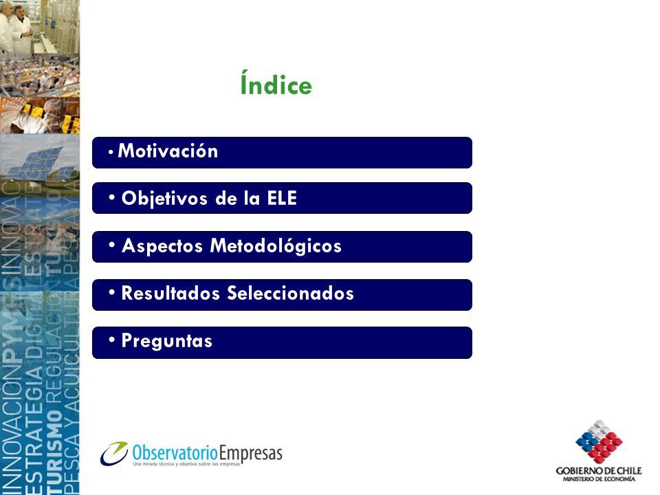 Índice Objetivos de la ELE Aspectos Metodológicos