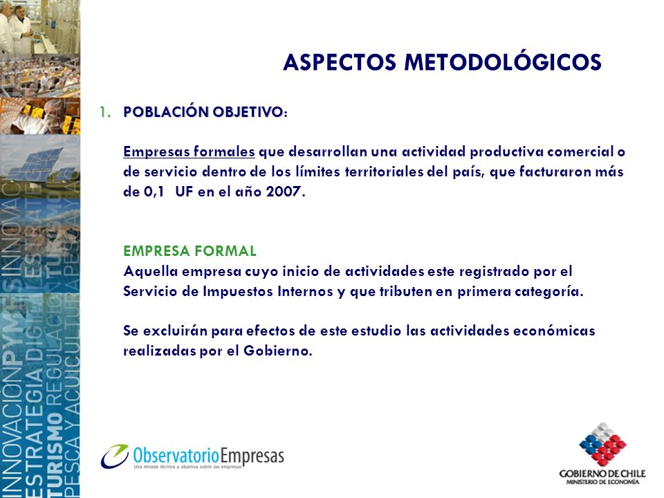 ASPECTOS METODOLÓGICOS