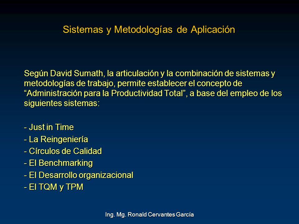 Sistemas y Metodologías de Aplicación