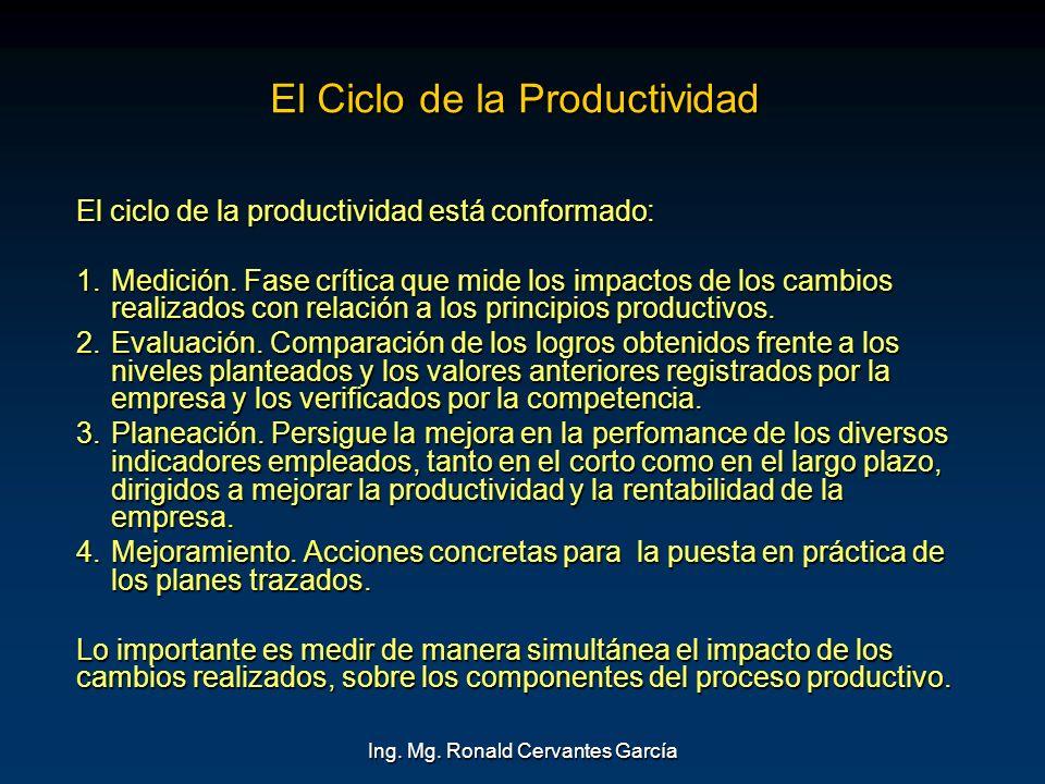 El Ciclo de la Productividad