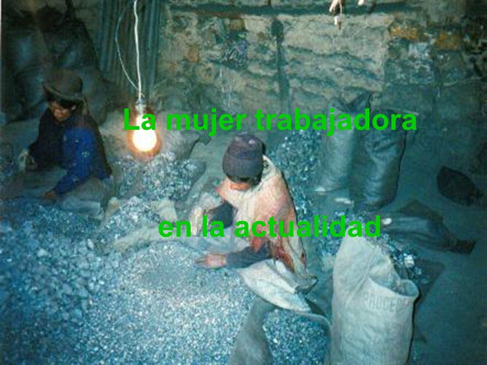 La mujer trabajadora en la actualidad