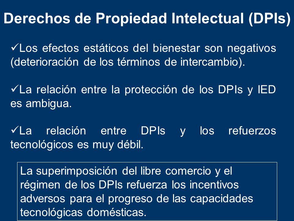 Derechos de Propiedad Intelectual (DPIs)