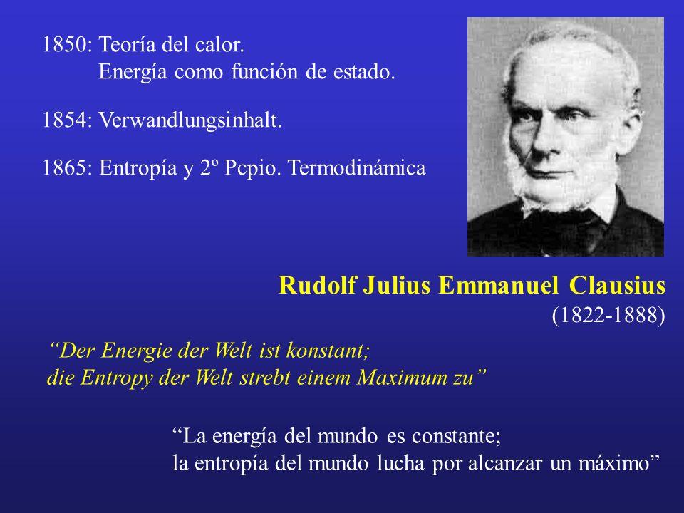 Rudolf Julius Emmanuel Clausius