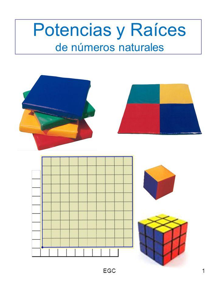 Potencias y Raíces de números naturales