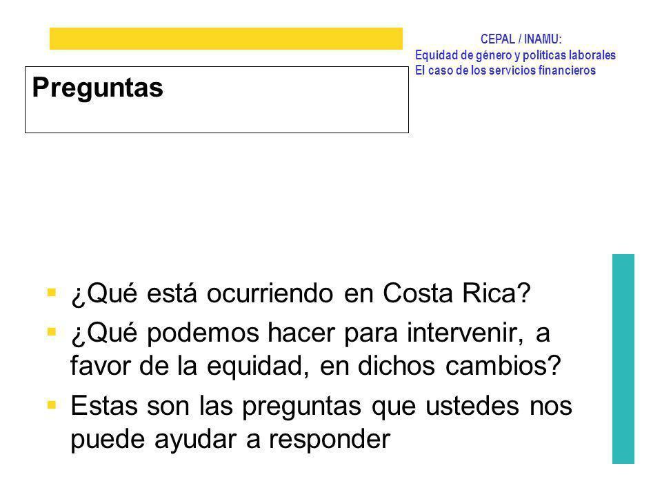 ¿Qué está ocurriendo en Costa Rica