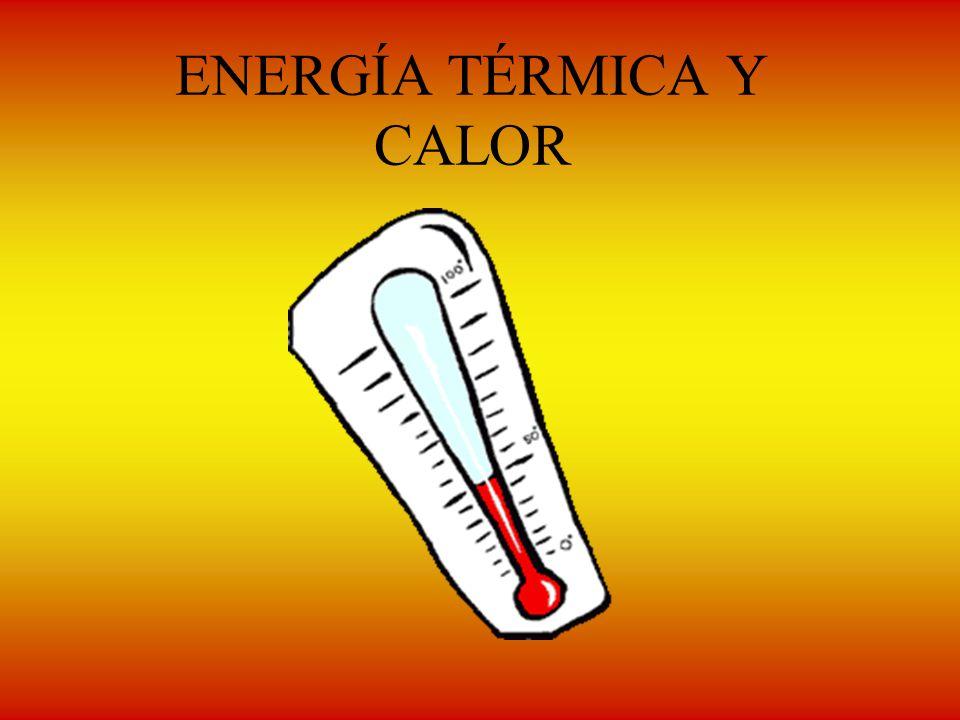 ENERGÍA TÉRMICA Y CALOR