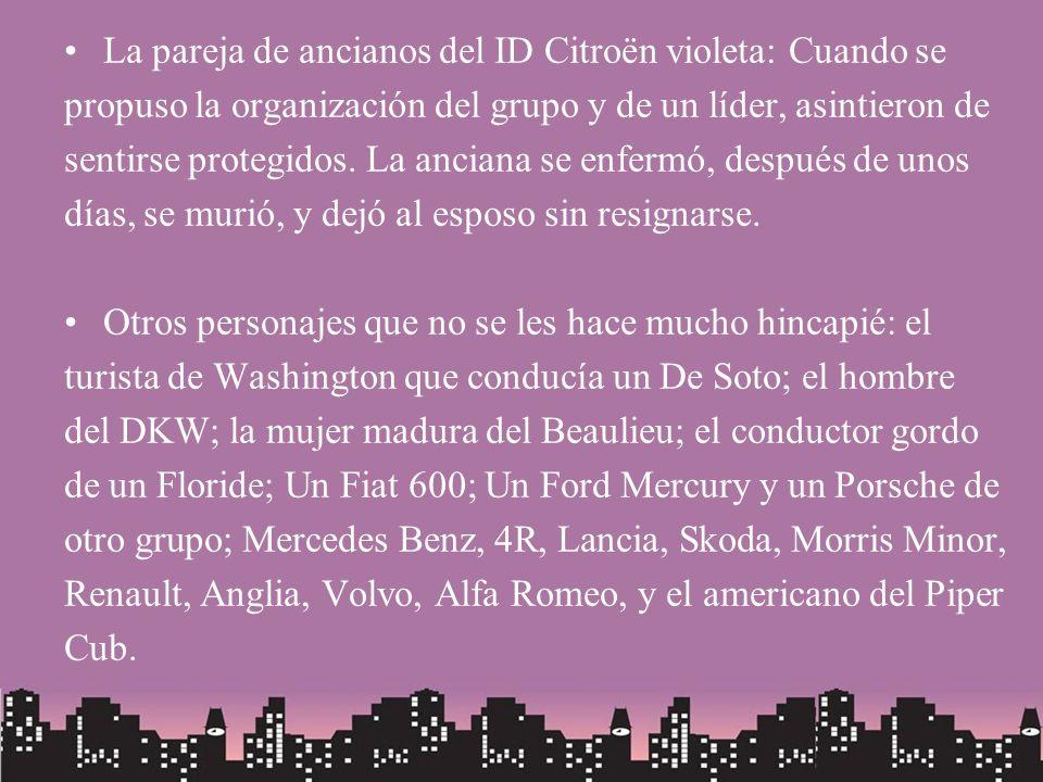 La pareja de ancianos del ID Citroën violeta: Cuando se