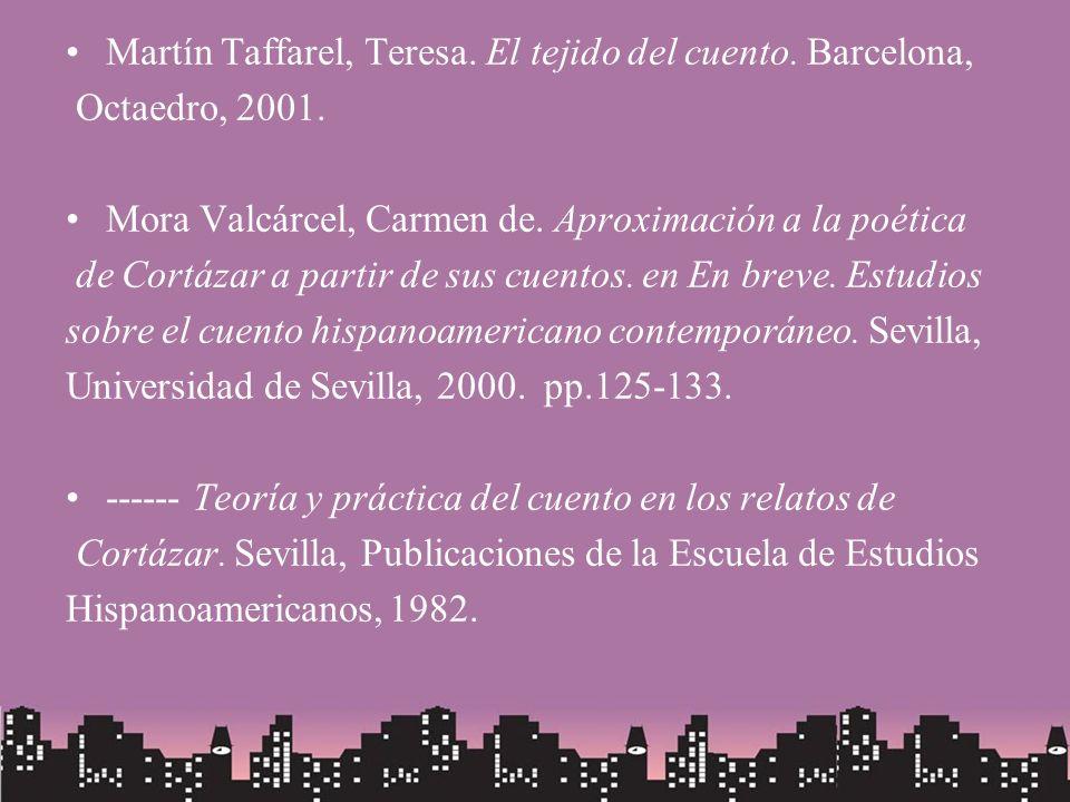 Martín Taffarel, Teresa. El tejido del cuento. Barcelona,