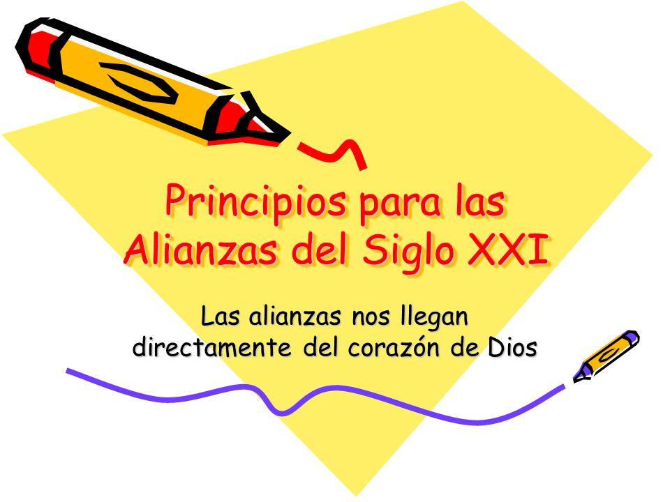 Principios para las Alianzas del Siglo XXI