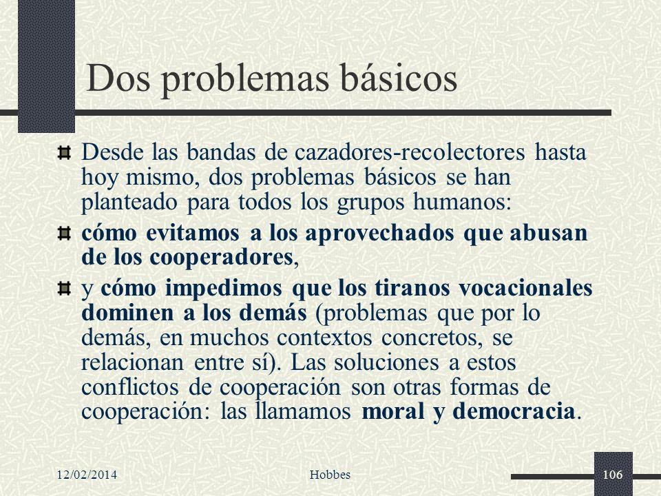 Dos problemas básicos