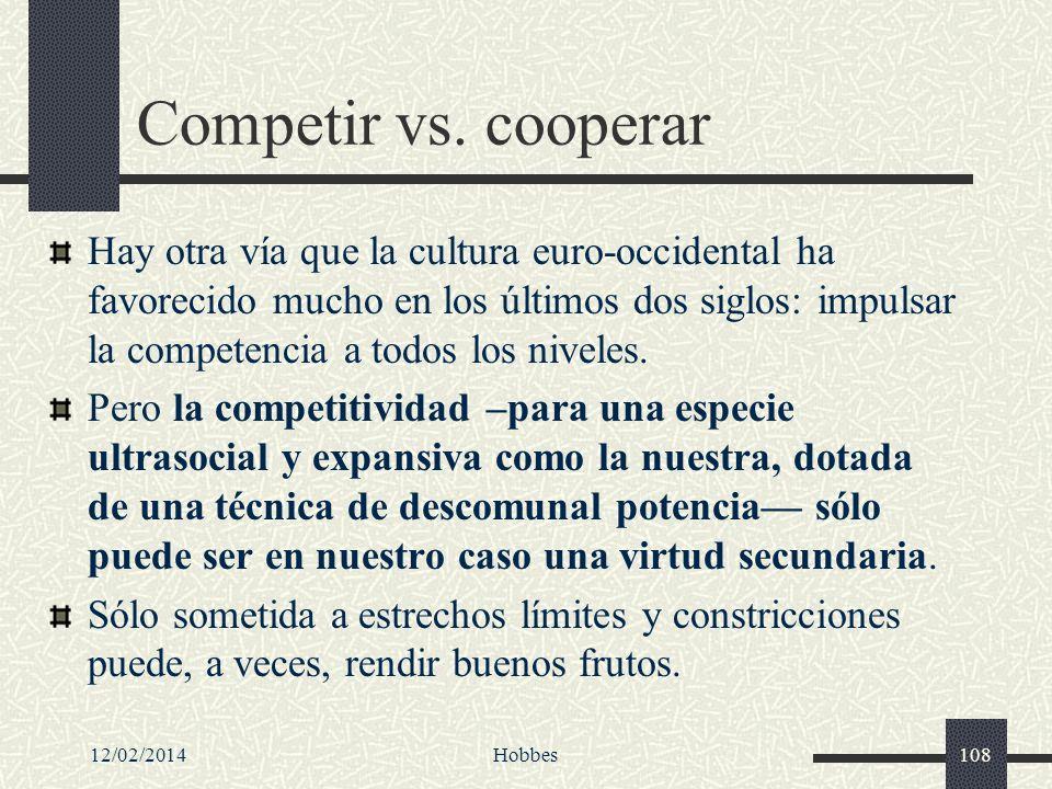 Competir vs. cooperar