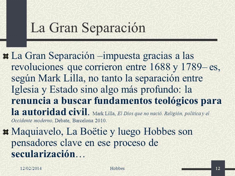 La Gran Separación