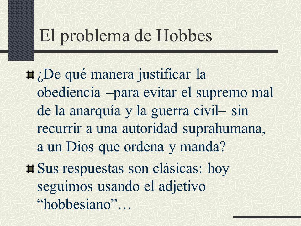 El problema de Hobbes