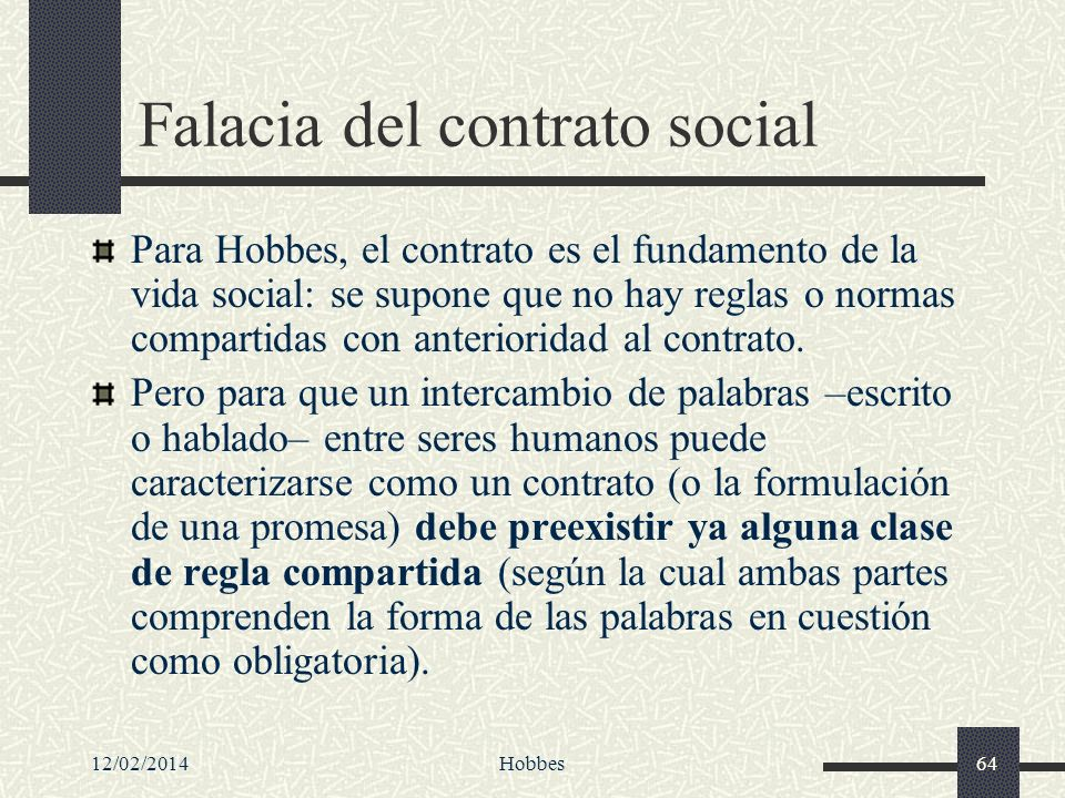 Falacia del contrato social