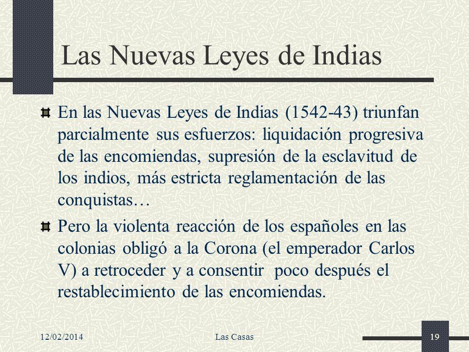 Las Nuevas Leyes de Indias