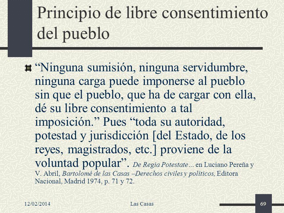 Principio de libre consentimiento del pueblo