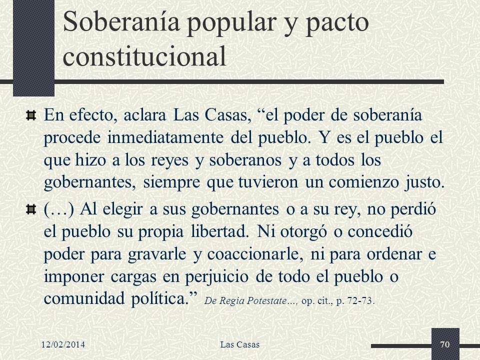 Soberanía popular y pacto constitucional