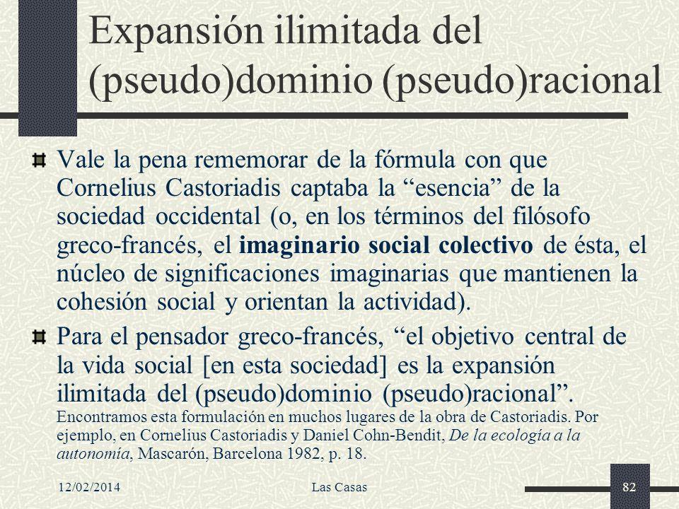 Expansión ilimitada del (pseudo)dominio (pseudo)racional