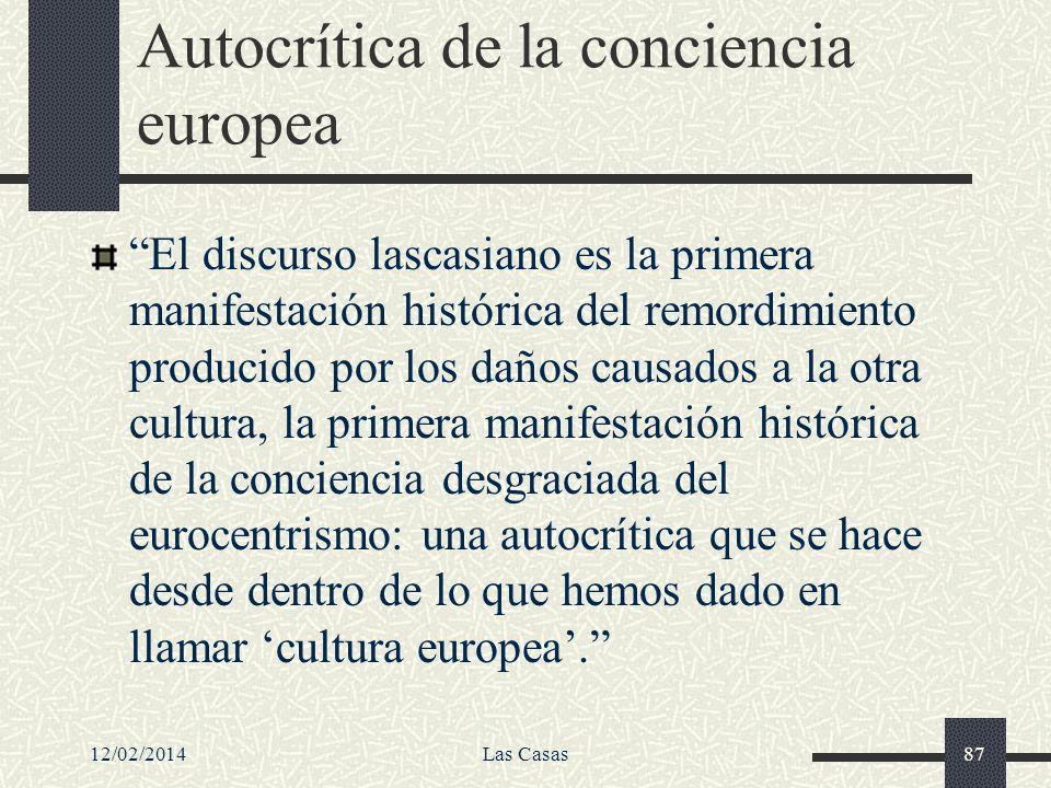 Autocrítica de la conciencia europea