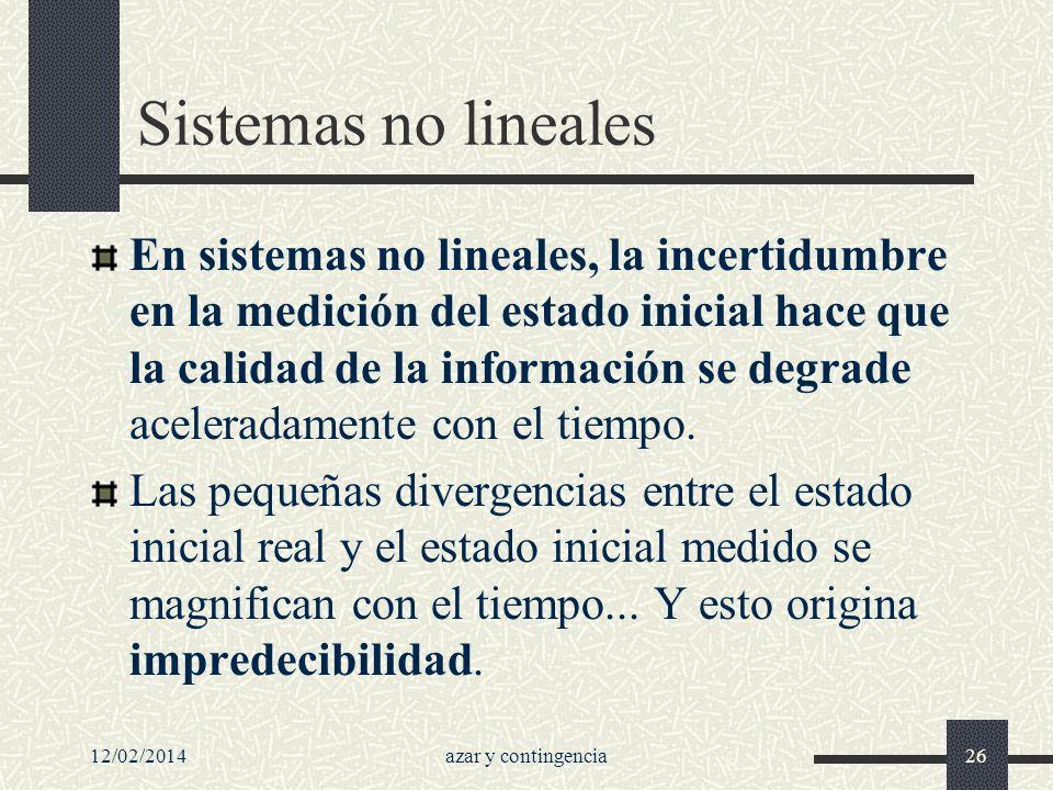 Sistemas no lineales