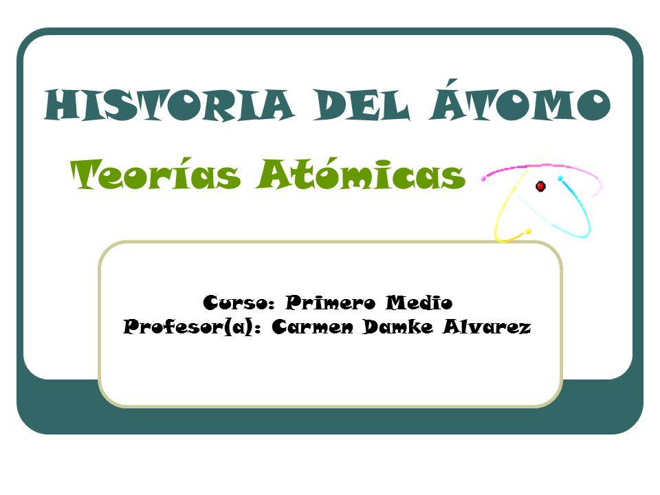 Profesor(a): Carmen Damke Alvarez