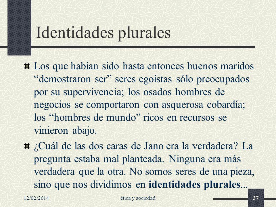 Identidades plurales