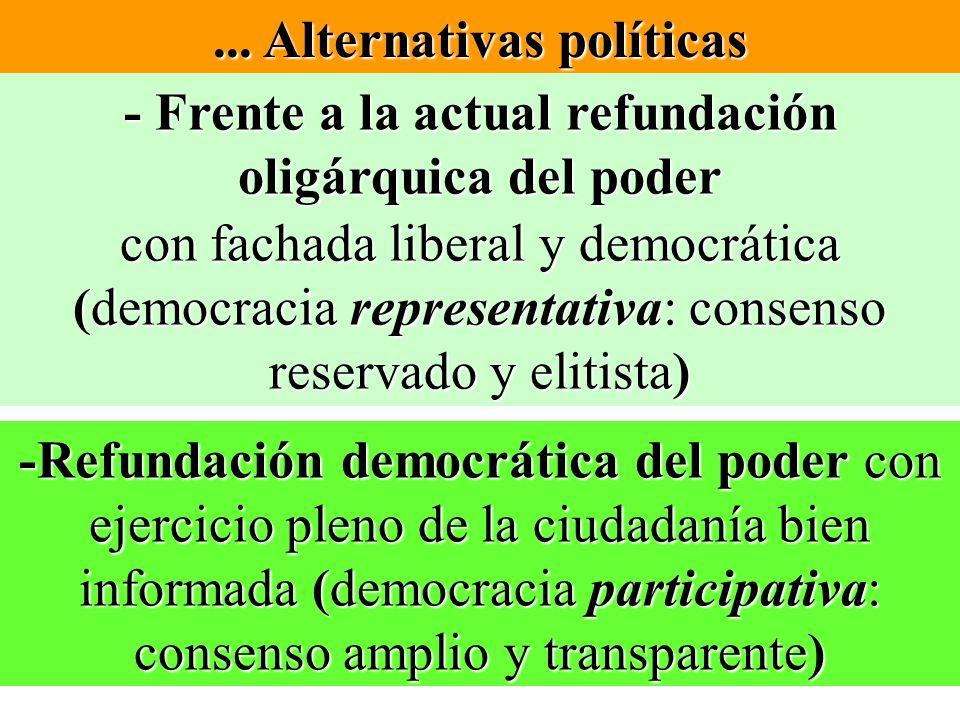 ... Alternativas políticas