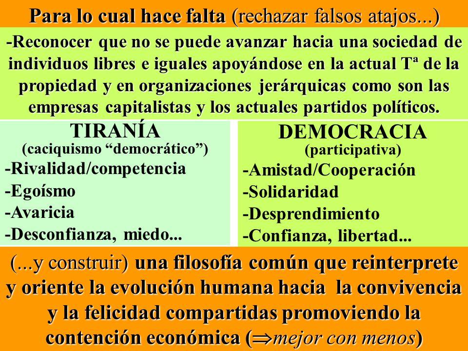 (caciquismo democrático )