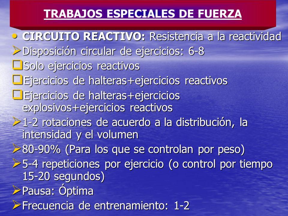 TRABAJOS ESPECIALES DE FUERZA