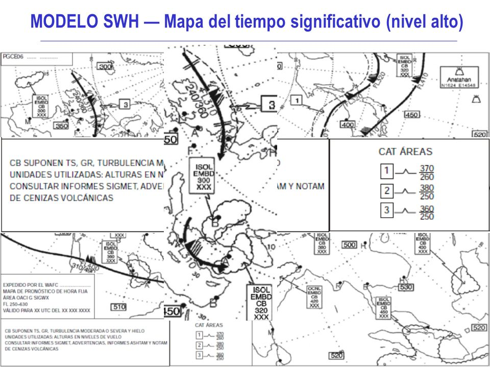 MODELO SWH — Mapa del tiempo significativo (nivel alto)