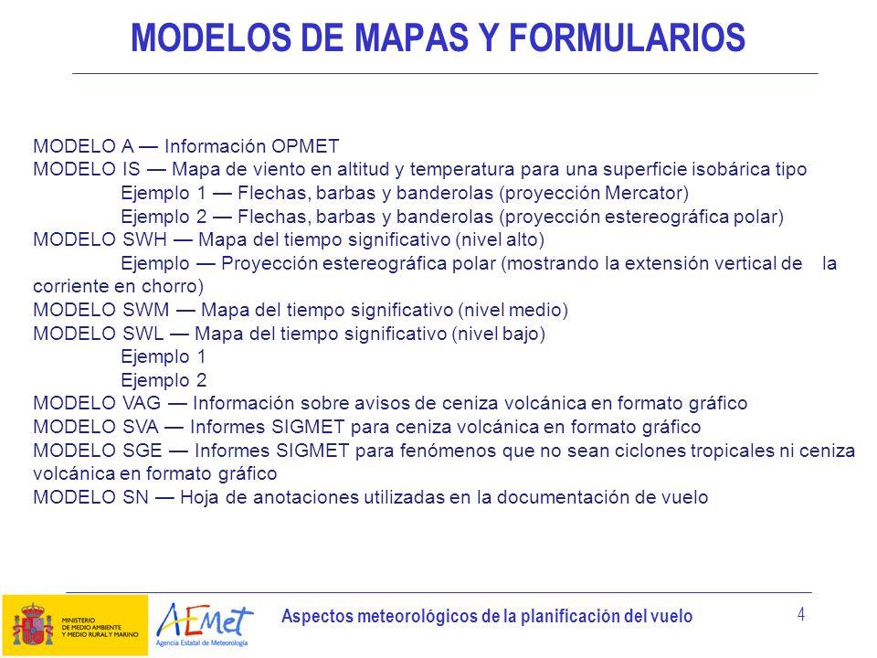 MODELOS DE MAPAS Y FORMULARIOS