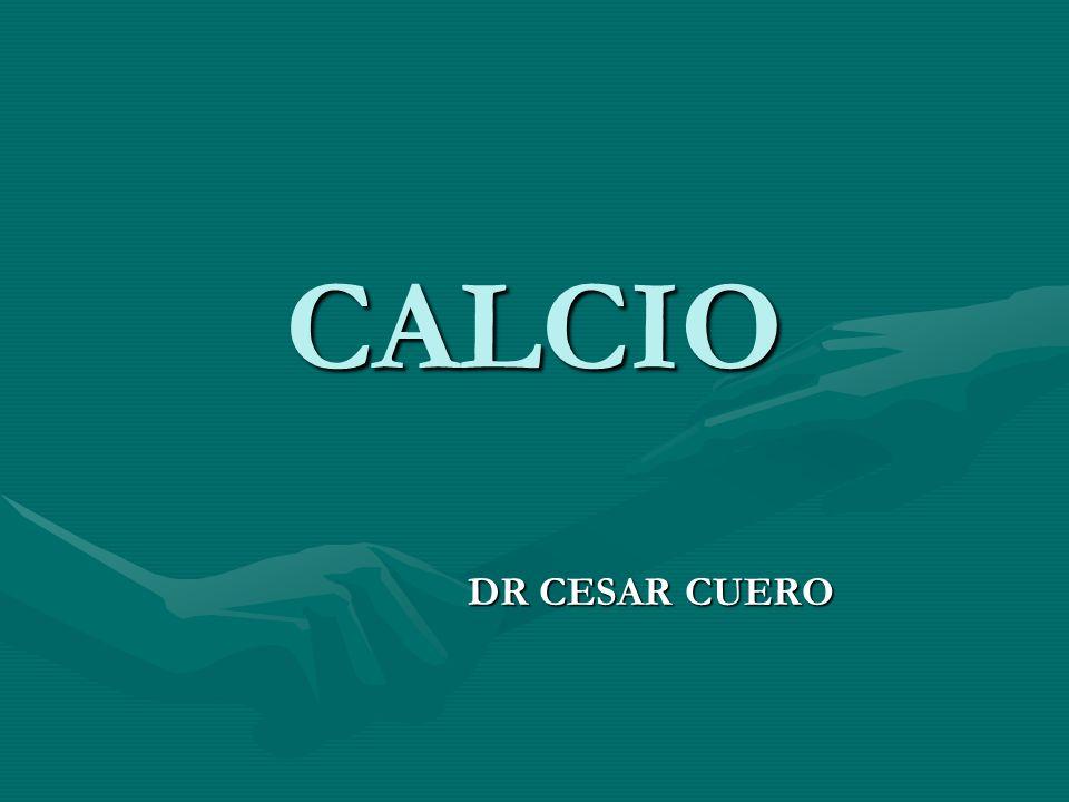 CALCIO DR CESAR CUERO