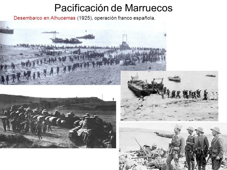 Pacificación de Marruecos