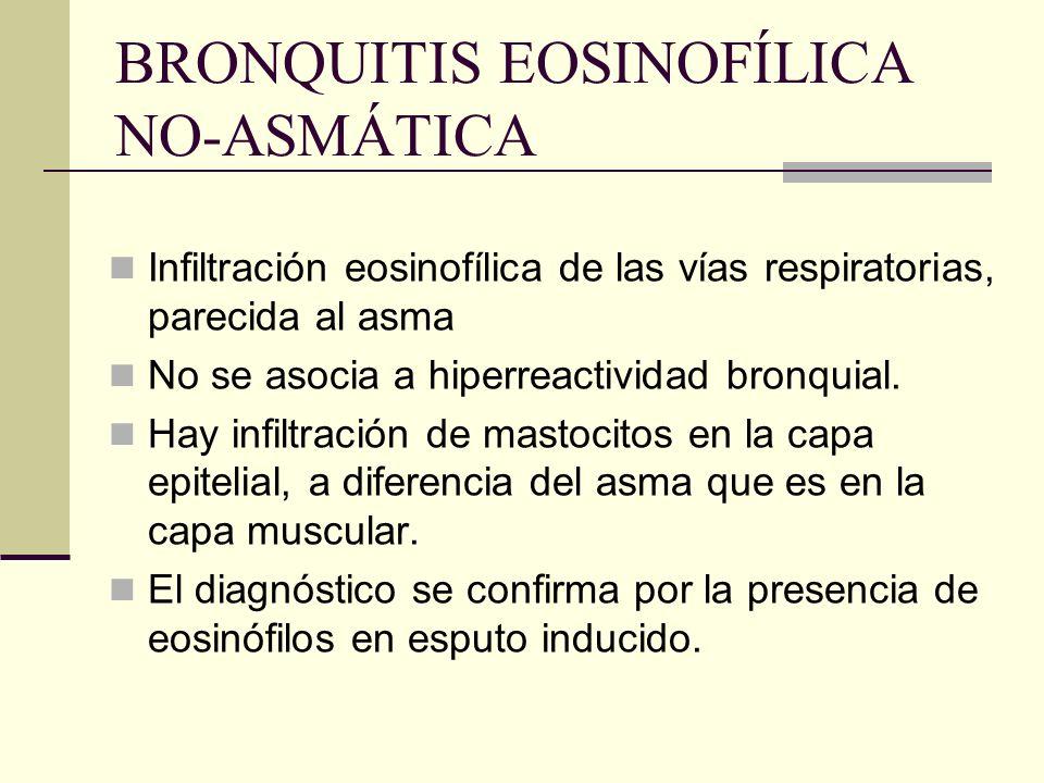 BRONQUITIS EOSINOFÍLICA NO-ASMÁTICA