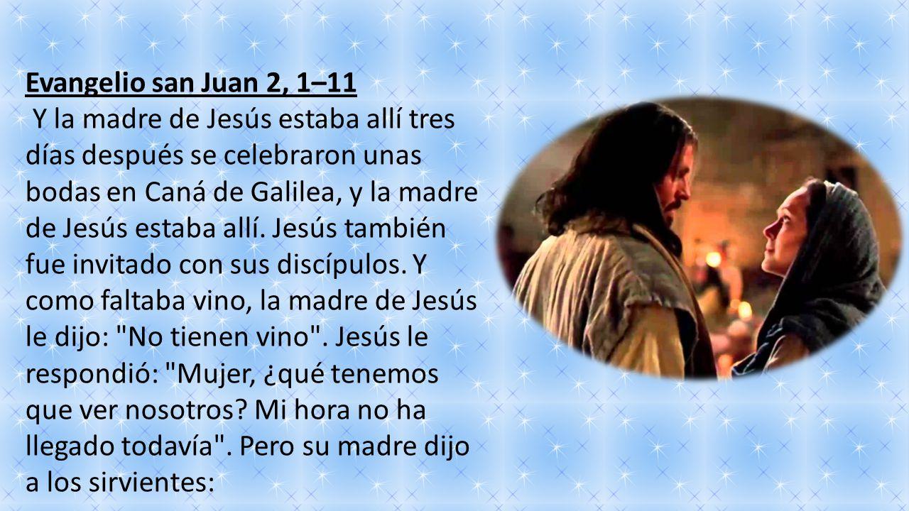 Evangelio san Juan 2, 1–11
