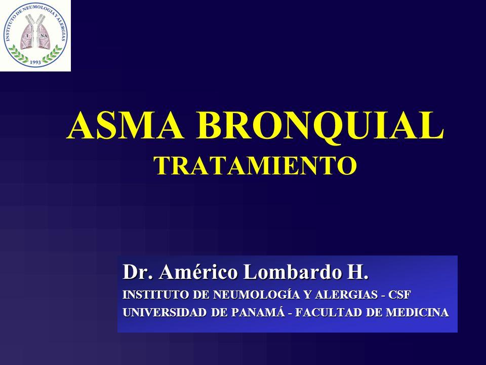 ASMA BRONQUIAL TRATAMIENTO