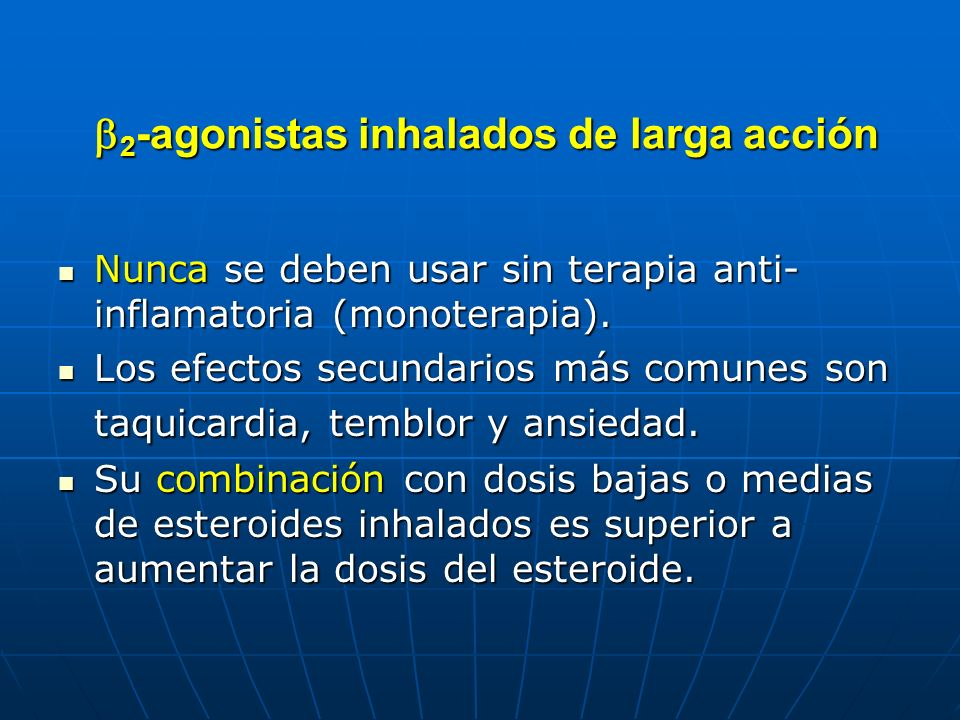 b2-agonistas inhalados de larga acción