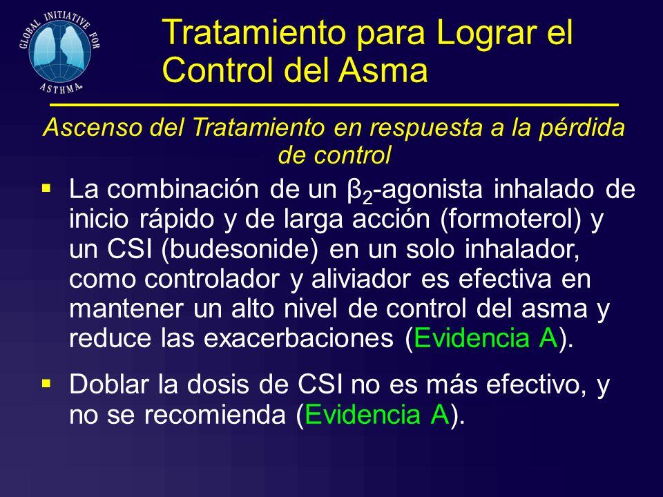 Ascenso del Tratamiento en respuesta a la pérdida de control
