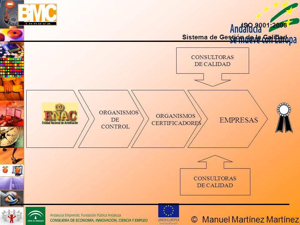 EMPRESAS ENAC ISO 9001:2008 Sistema de Gestión de la Calidad