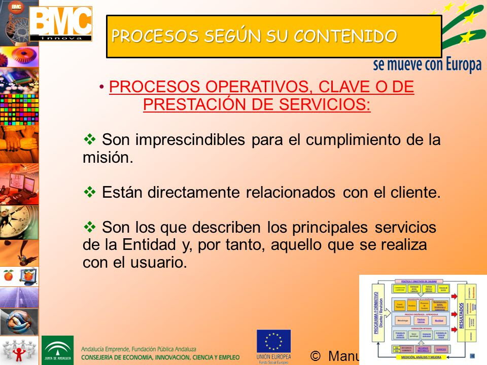 PROCESOS OPERATIVOS, CLAVE O DE PRESTACIÓN DE SERVICIOS: