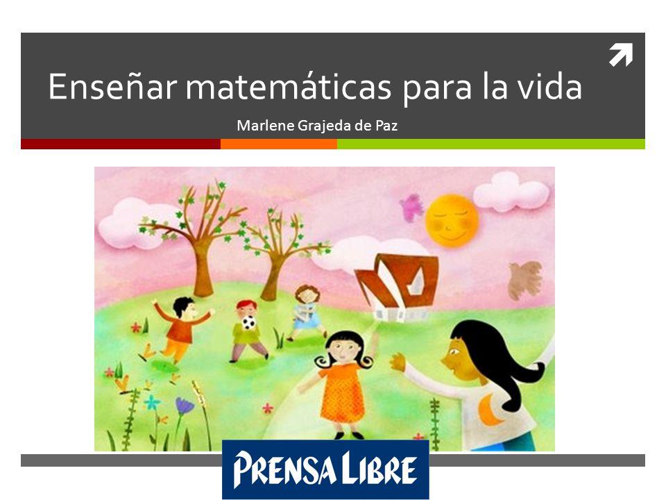 Enseñar matemáticas para la vida