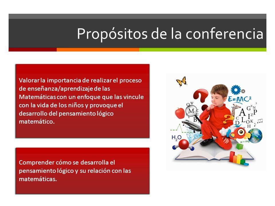 Propósitos de la conferencia