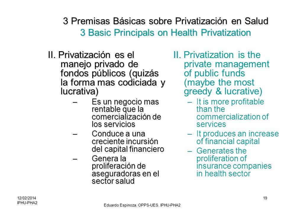 Eduardo Espinoza. OPPS-UES. IPHU-PHA2