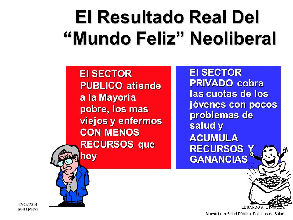 El Resultado Real Del Mundo Feliz Neoliberal