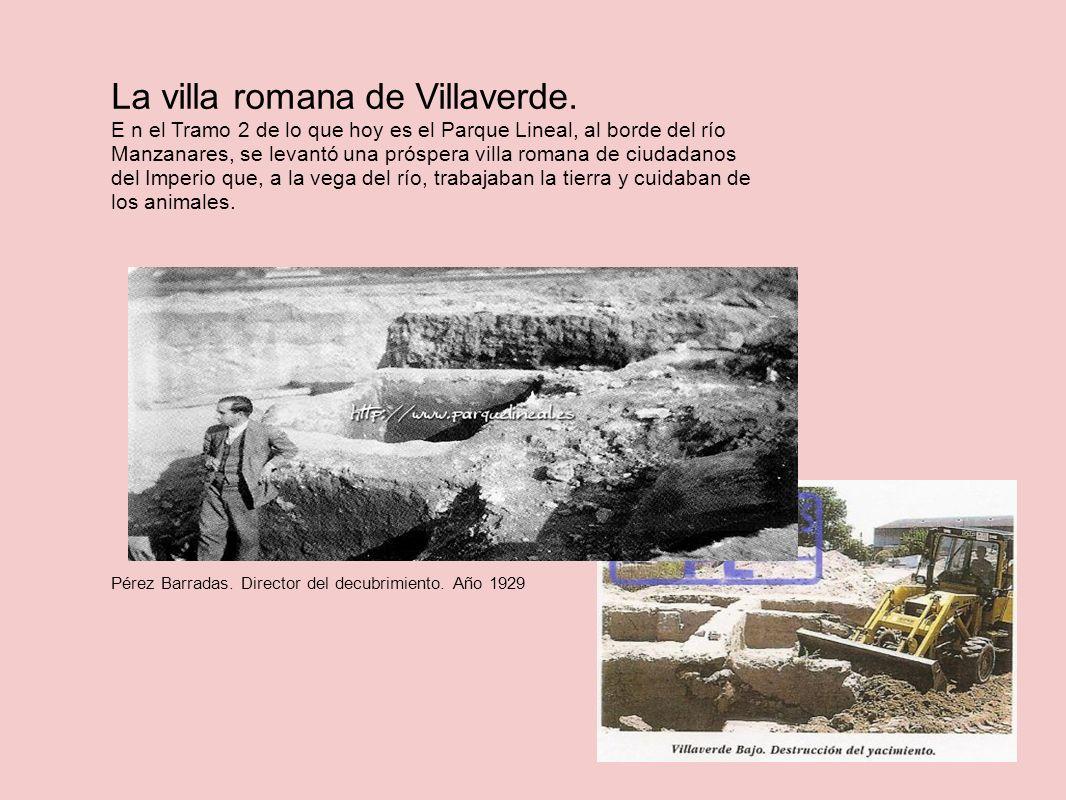 La villa romana de Villaverde.
