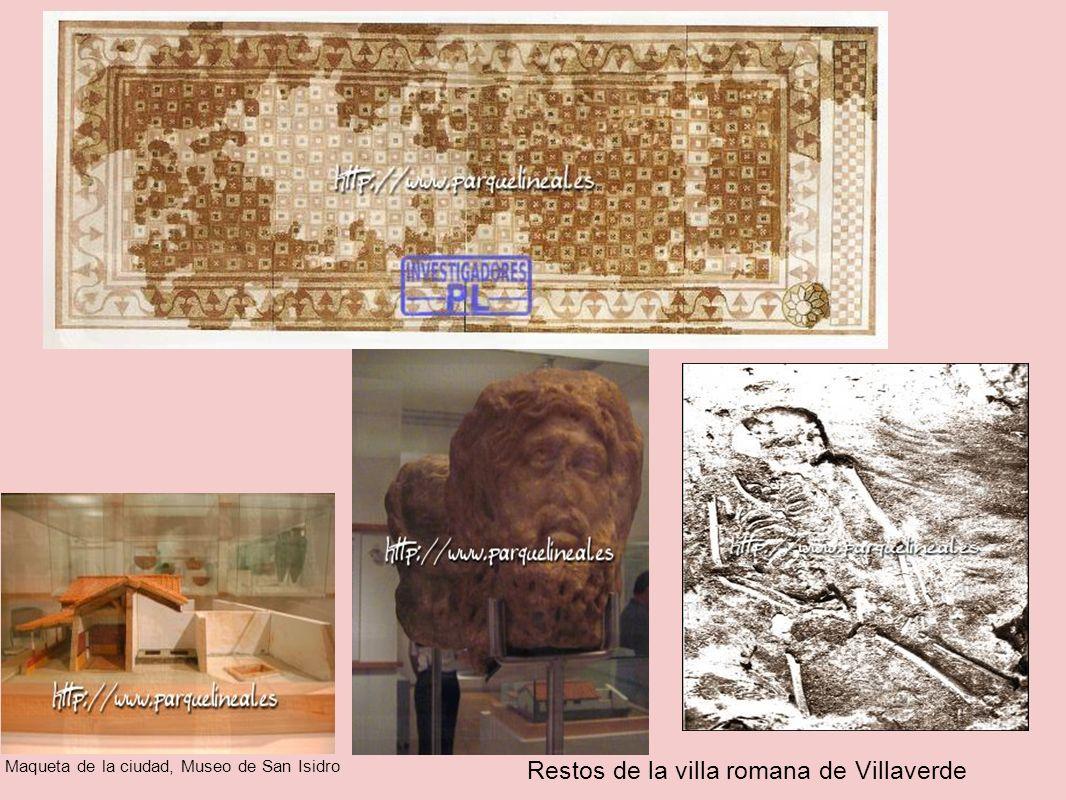Restos de la villa romana de Villaverde