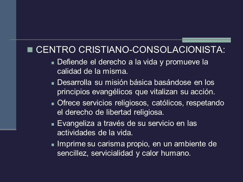 CENTRO CRISTIANO-CONSOLACIONISTA: